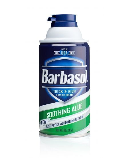 Пена для бритья Barbasol Soothing Aloe