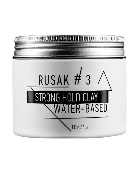 Глина Rusak #3 Strong Hold Clay