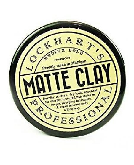Глина Lockhart's Professional Matte Clay Travel Size