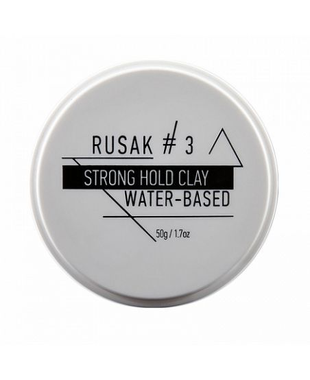 Глина Rusak #3 Strong Hold Clay Travel Size