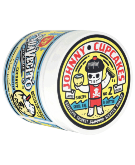 Помада Suavecito X Johnny Cupcakes Firme Hold Coconut