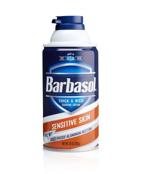 Пена для бритья Barbasol Sensitive Skin