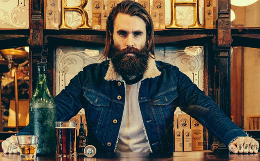 Captain Fawcett Ricki Hall's Booze & Baccy