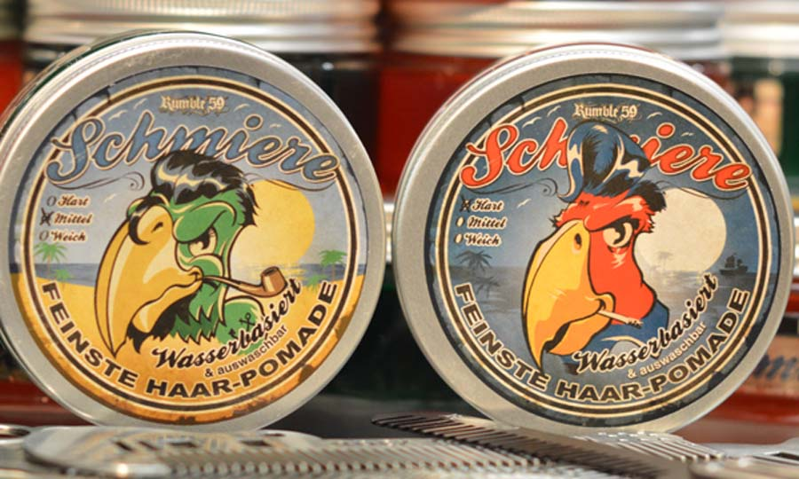 Schmiere water-based pomade